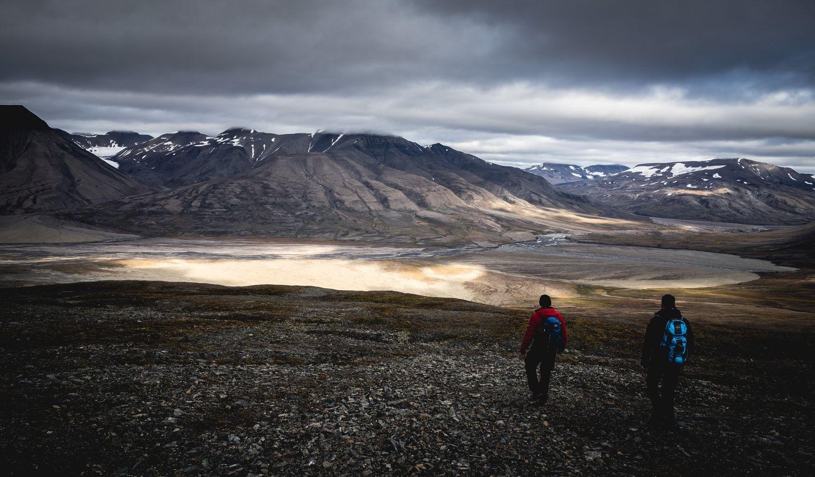 Svalbard, Norway by Patrick Schneider / Unsplash